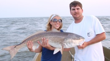 Giant Red Drum Fishing